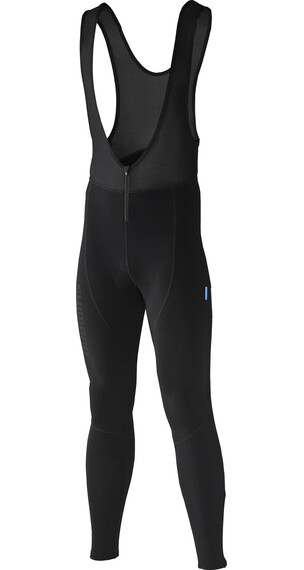 Shimano Thermal Lange Bibshorts zwart